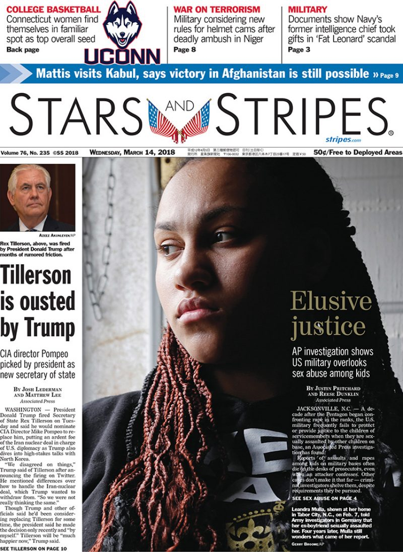 Starsand Stripes Front Page